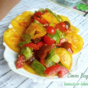 Unser weltbester Tomatensalat // Our World best tomato-salad