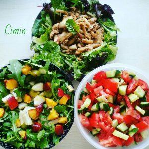 Salat-Buffet // Salad buffet